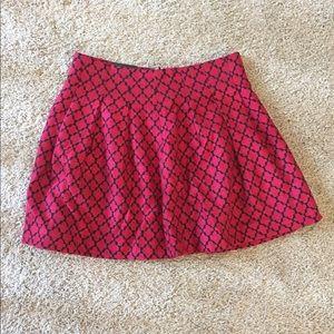 Banana Republic Pattered Skirt Size 8